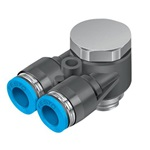 QSYLV-G1/8-6 Y-insteekschroefkoppeling