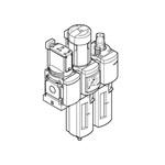 NEBU-M12W8-5-N-LE8 connector+kabel