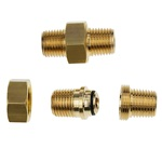 """MALE ADAPTOR 1/2""""BSPT WITH SEAL"""