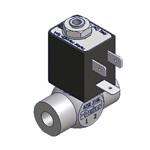 Magneetventiel RVS G1/4 NC 0-6bar 230VAC