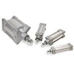 Cilinder ISO15552 ø100 slag 80 trekstang