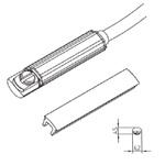 Sensor t.b.v. K-series NO/PNP 3x0,14