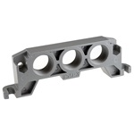 Inlet or outlet plate ISO3/4 1'(2xnodig)