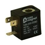 Magneetspoel 12VDC / 24VAC > Power lvl 4