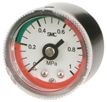 "Manometer 0-10 bar AA R1/8"""