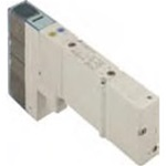 5/3 plug-in 24Vdc HD open middenstand